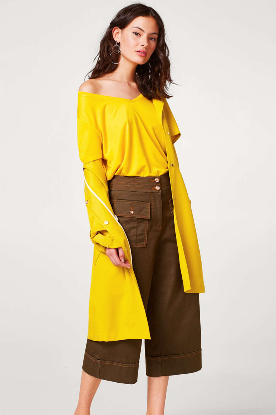 Wide, comfy and stretchy culottes