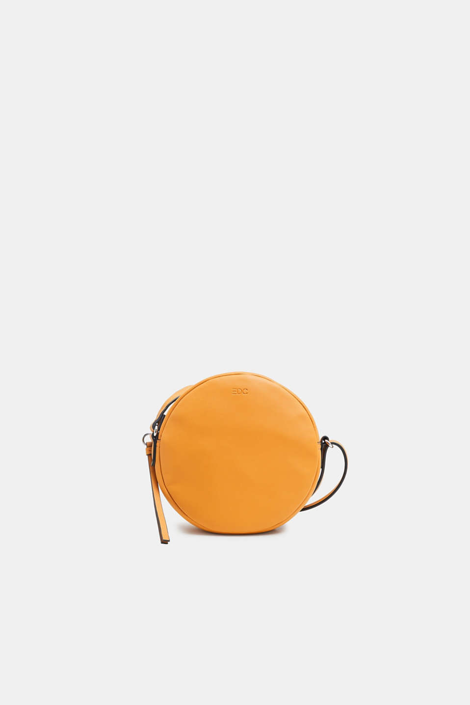 edc - Round faux leather shoulder bag