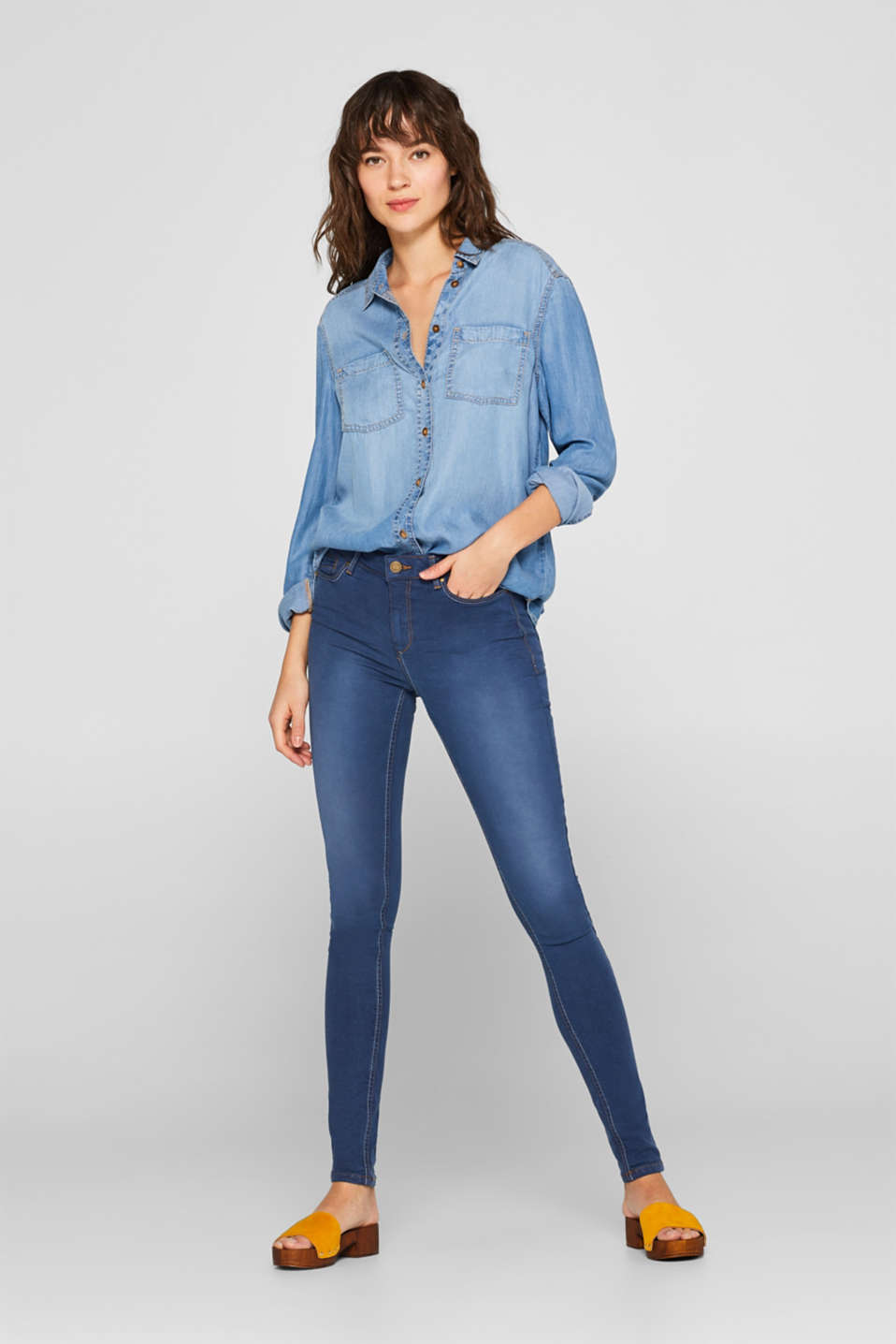 edc - Superstretch-jeans med lyocell