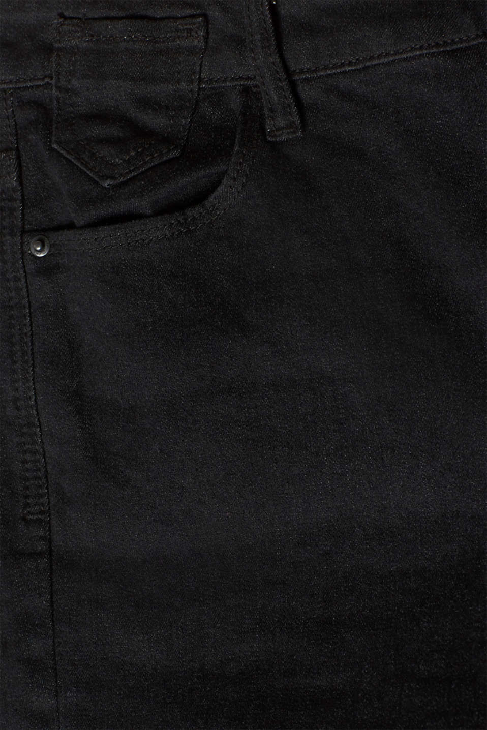 Pants denim, BLACK RINSE, detail image number 4