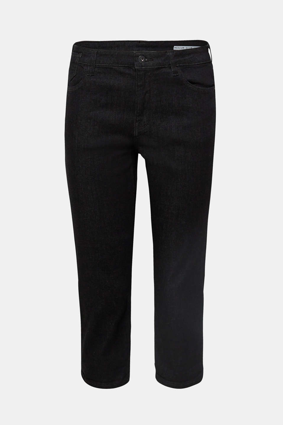 Pants denim, BLACK RINSE, detail image number 7