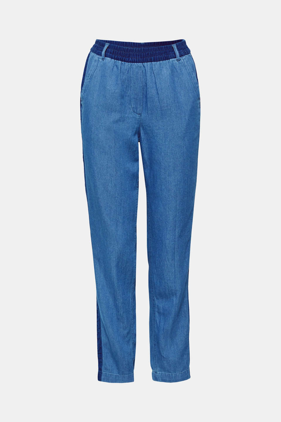 Pants woven, DARK BLUE, detail image number 7
