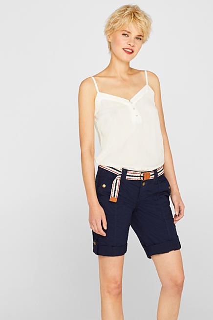 Korte Broek Dames Esprit.Esprit Mode Voor Dames Heren Kinderen In De Online Shop Esprit