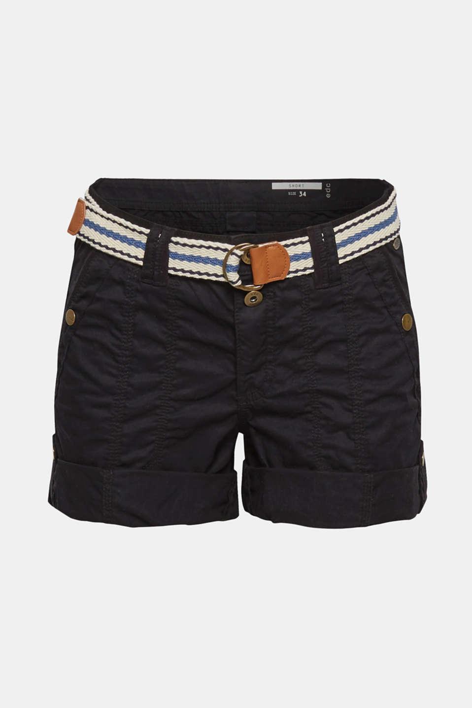 Shorts woven, BLACK, detail image number 8