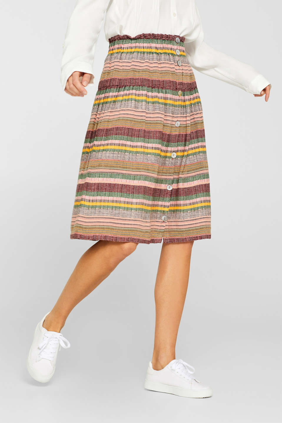 Skirts light woven, LIGHT PINK, detail image number 5