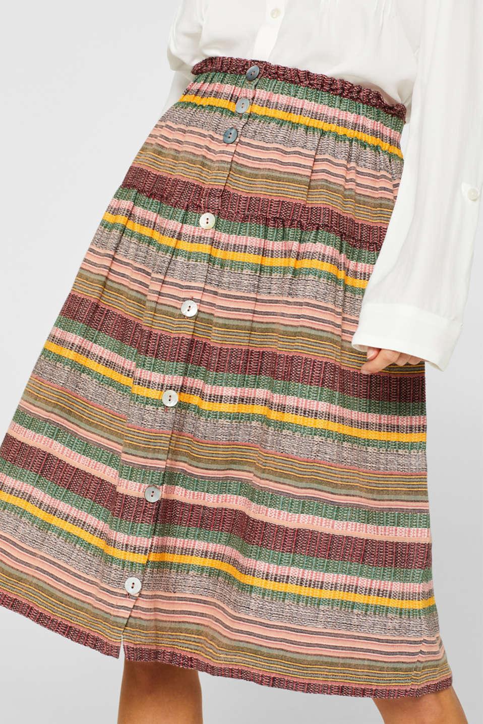 Skirts light woven, LIGHT PINK, detail image number 2