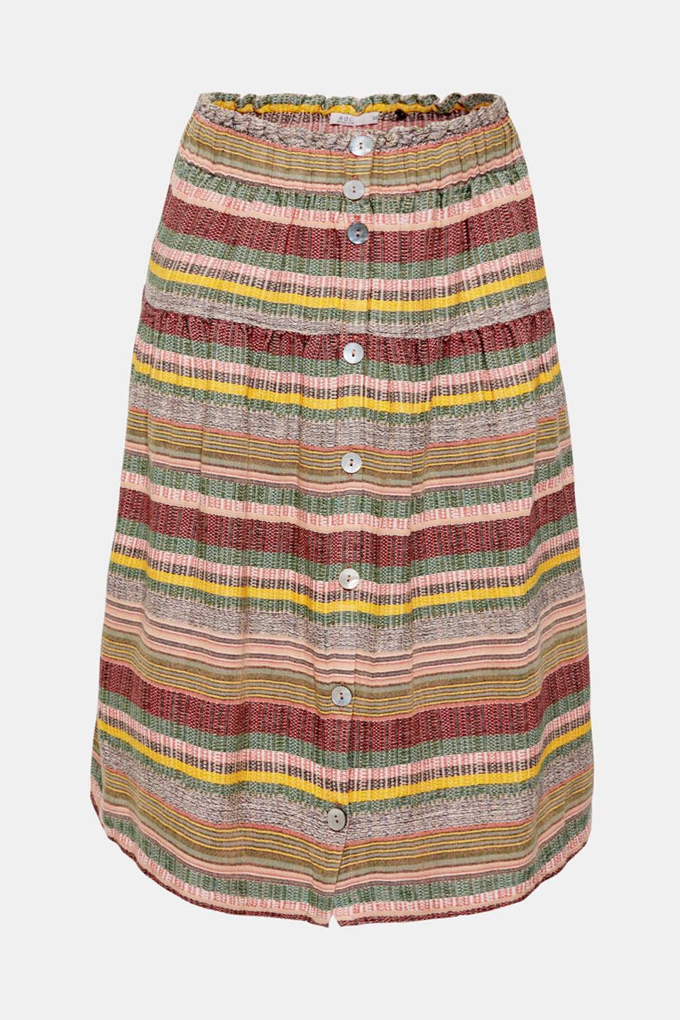 Skirts light woven, LIGHT PINK, detail image number 6