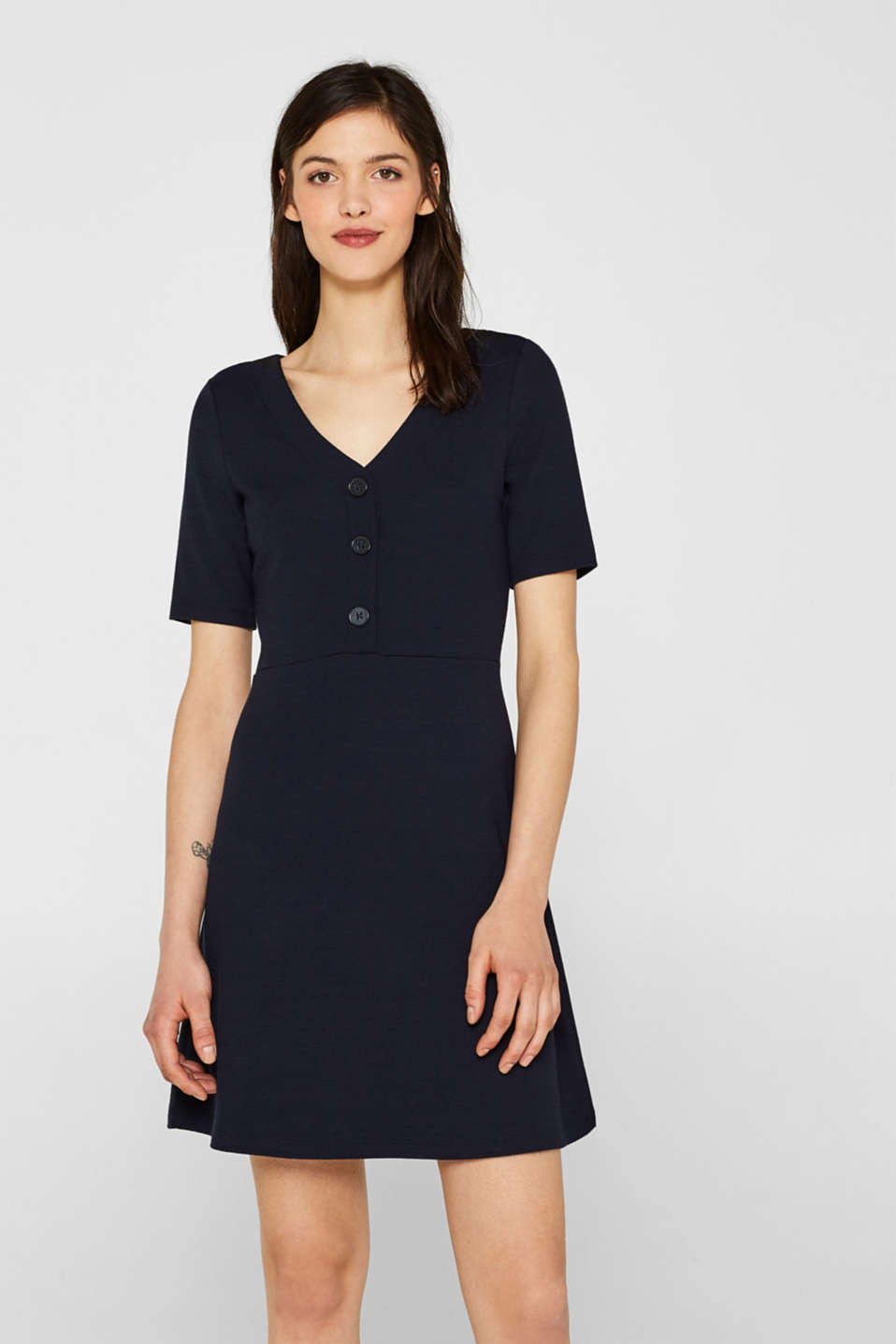 edc - Extra soft stretch jersey dress