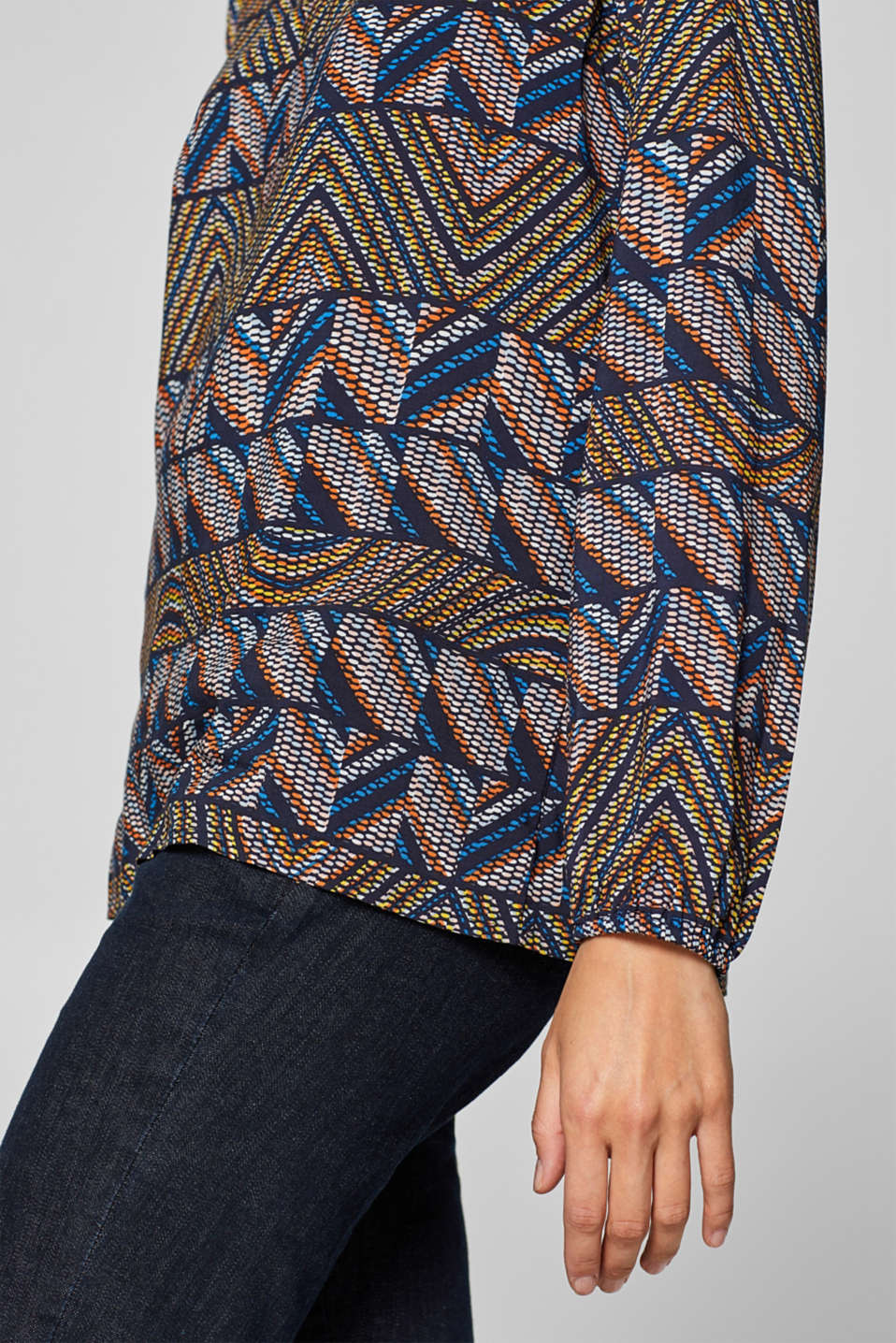 Blouses woven, NAVY 2, detail image number 2