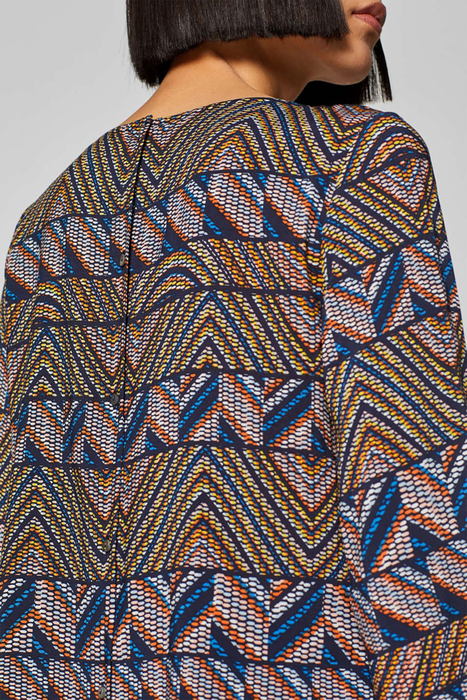 Blouses woven, NAVY 2, detail image number 6