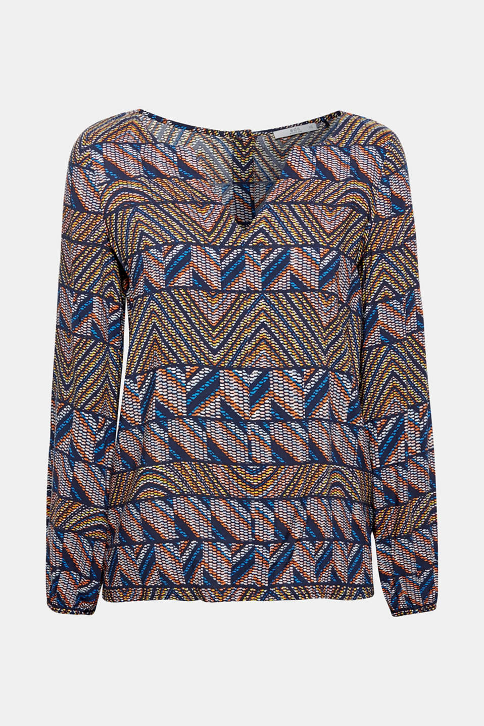 Blouses woven, NAVY 2, detail image number 7