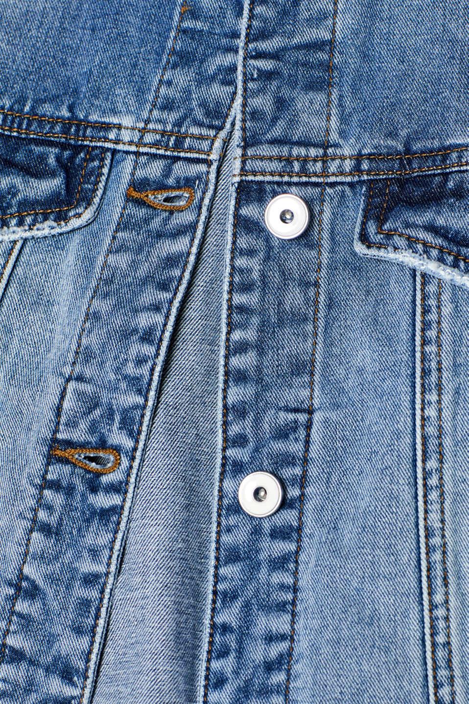 Jackets indoor woven, BLUE MEDIUM WASH, detail image number 4