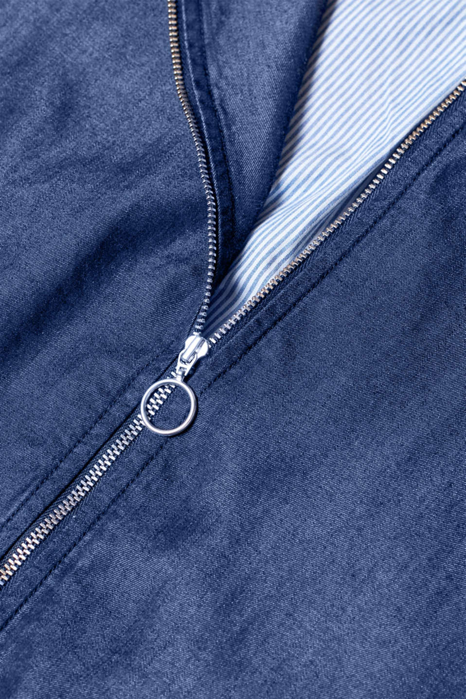 Jackets indoor denim, BLUE RINSE, detail image number 4