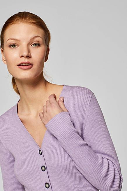 Jersey de canalé femenino con algodón ecológico 8a14cf327760