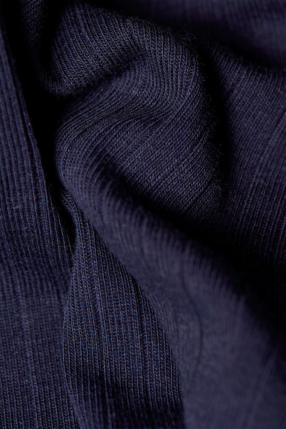 Stretch vest with a ribbed texture, NAVY, detail image number 4