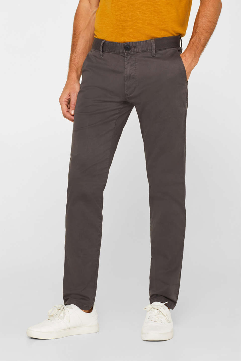 edc - Pantalon super stretch à cordon de serrage