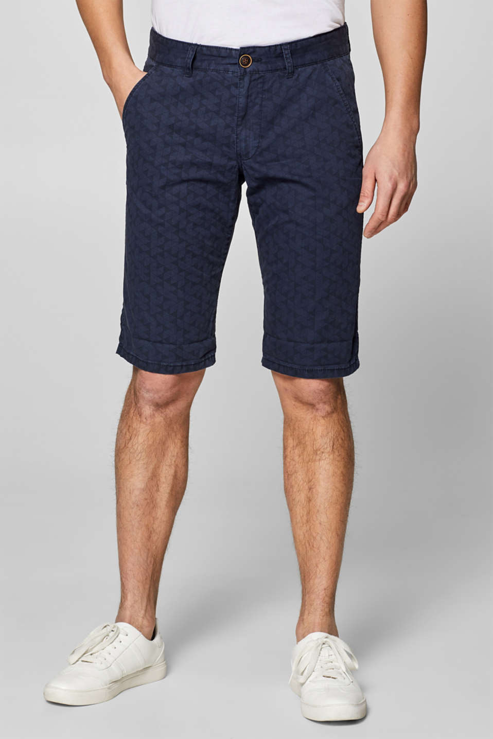 edc - Shorts in 100% cotton, with organic cotton