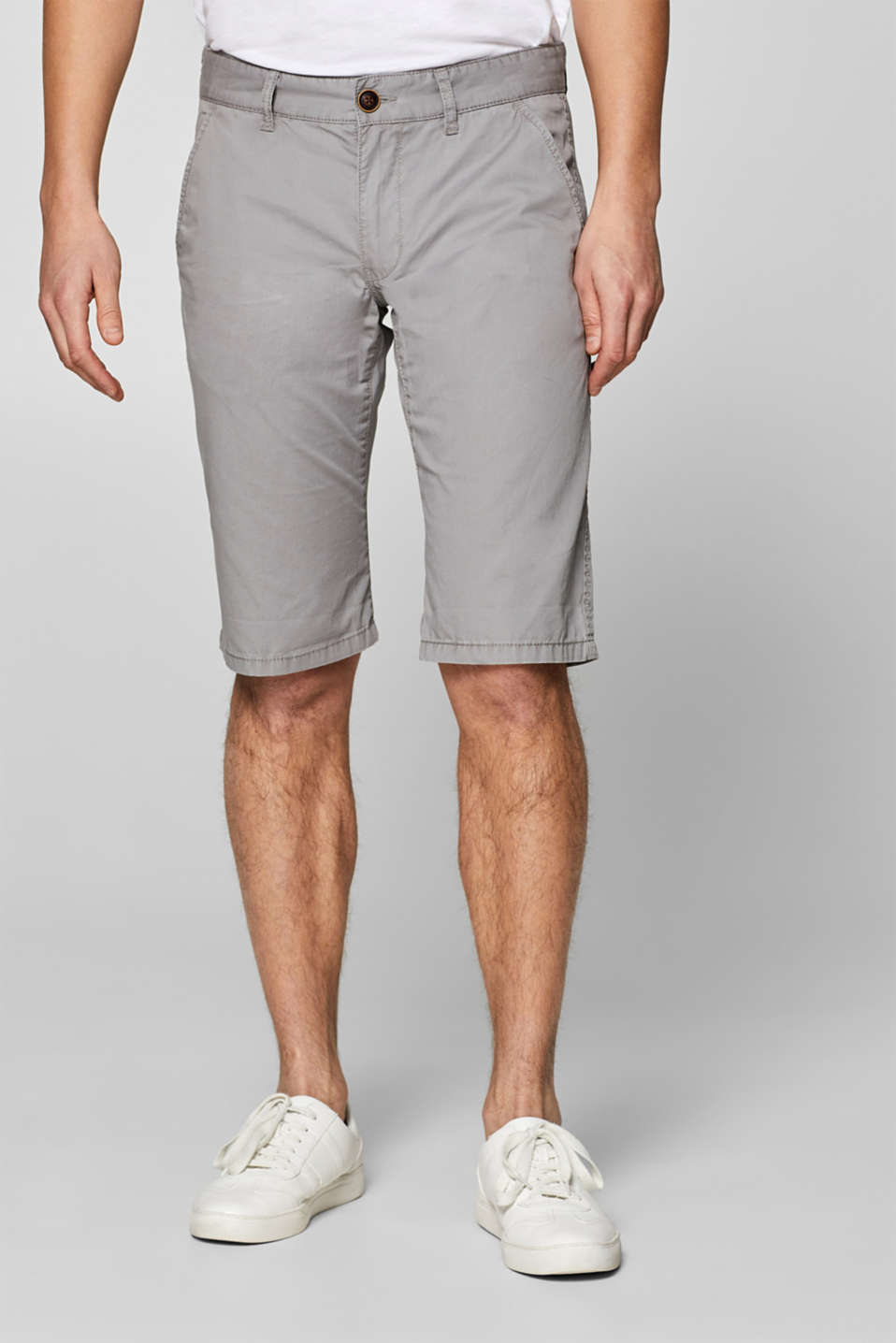 edc - Shorts chino con cotone biologico