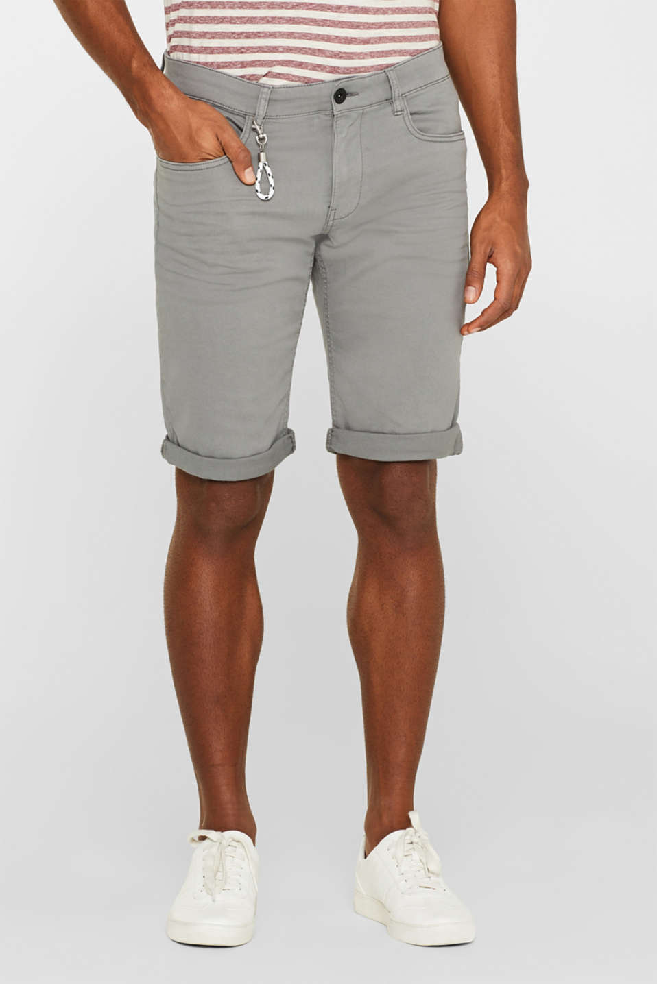 edc - Shorts aus Baumwoll-Stretch