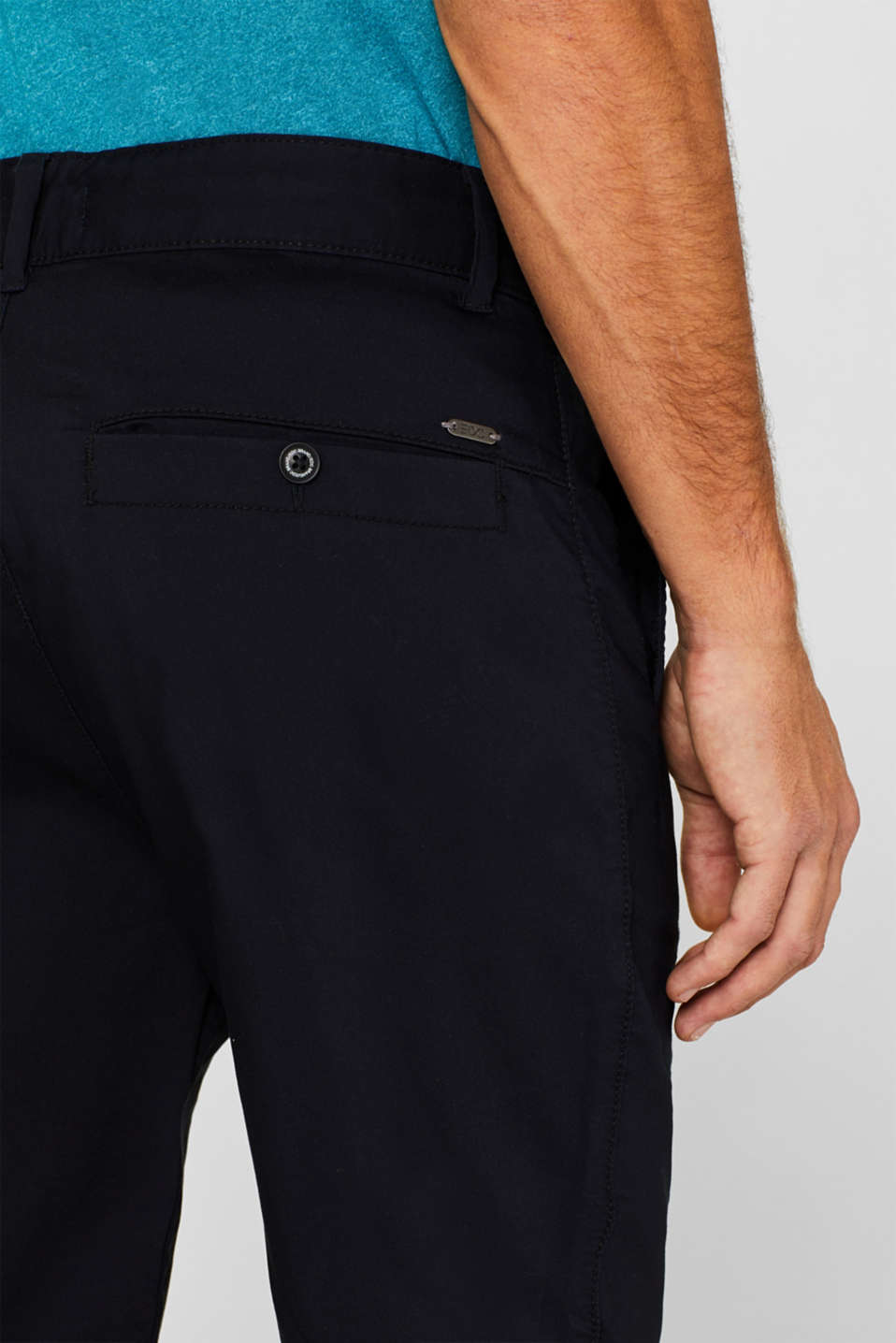 Shorts woven Slim fit, NAVY, detail image number 5