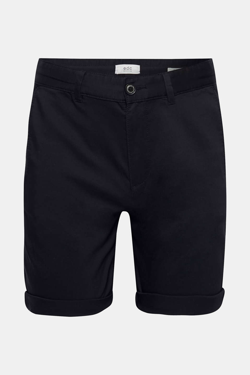 Shorts woven Slim fit, NAVY, detail image number 6