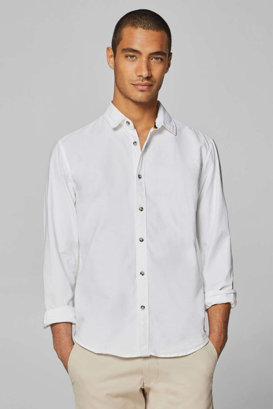 edc - Oxford shirt in 100% cotton