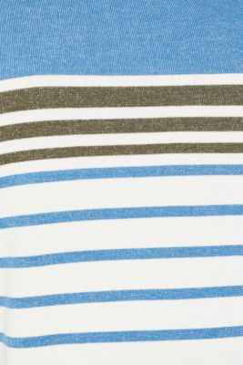 Striped jumper in 100% cotton