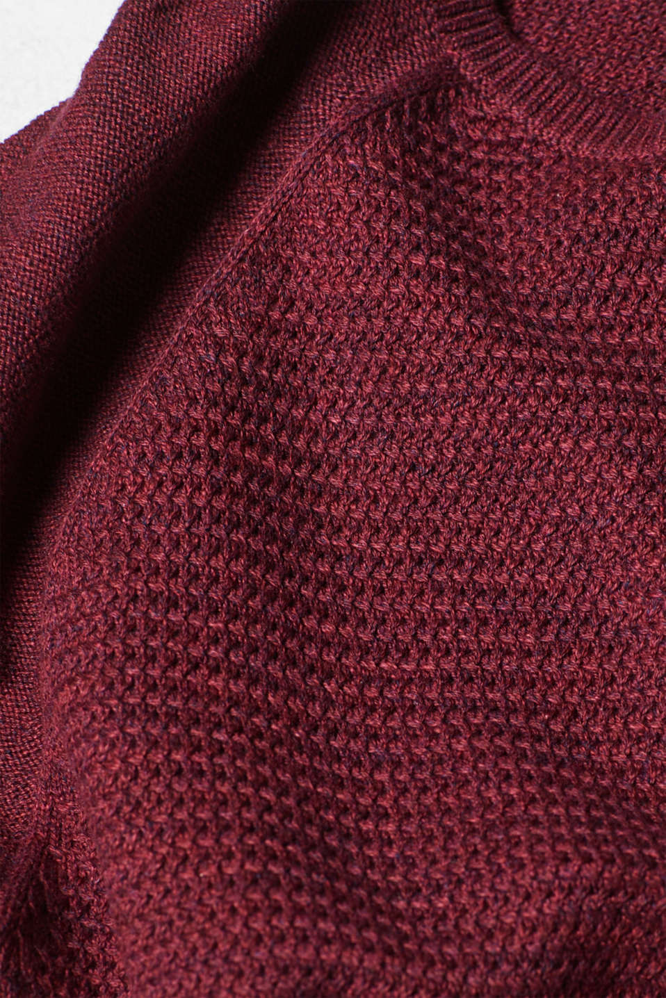 Sweaters, BORDEAUX RED, detail image number 5