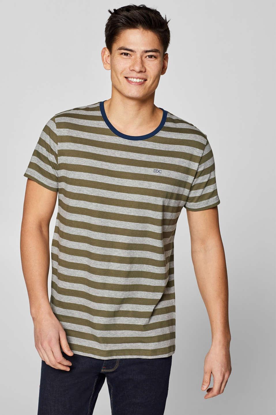 T-Shirts, KHAKI GREEN, detail image number 0