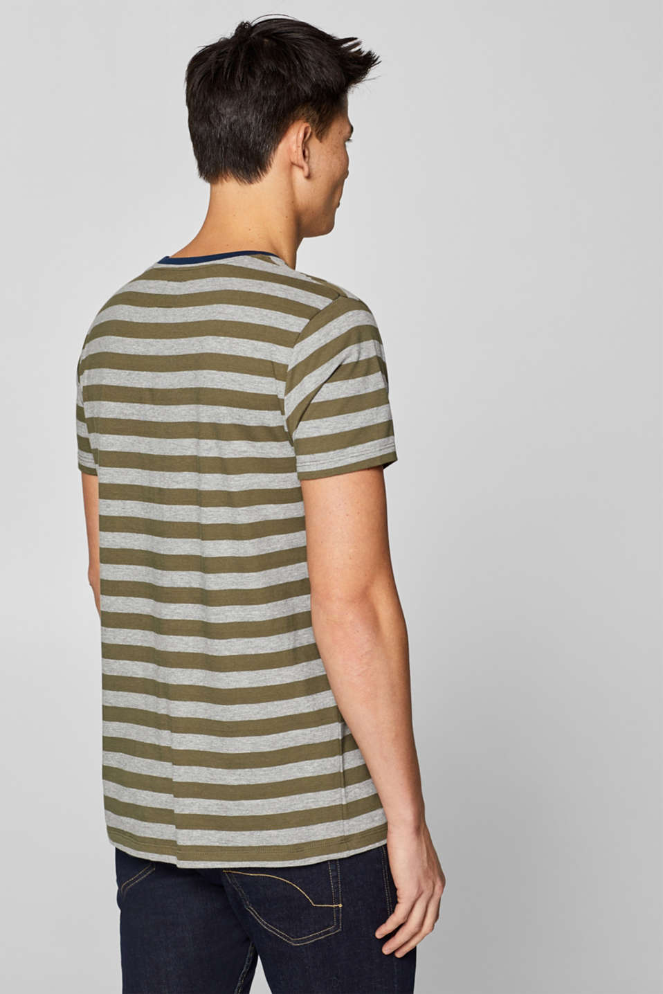 T-Shirts, KHAKI GREEN, detail image number 3
