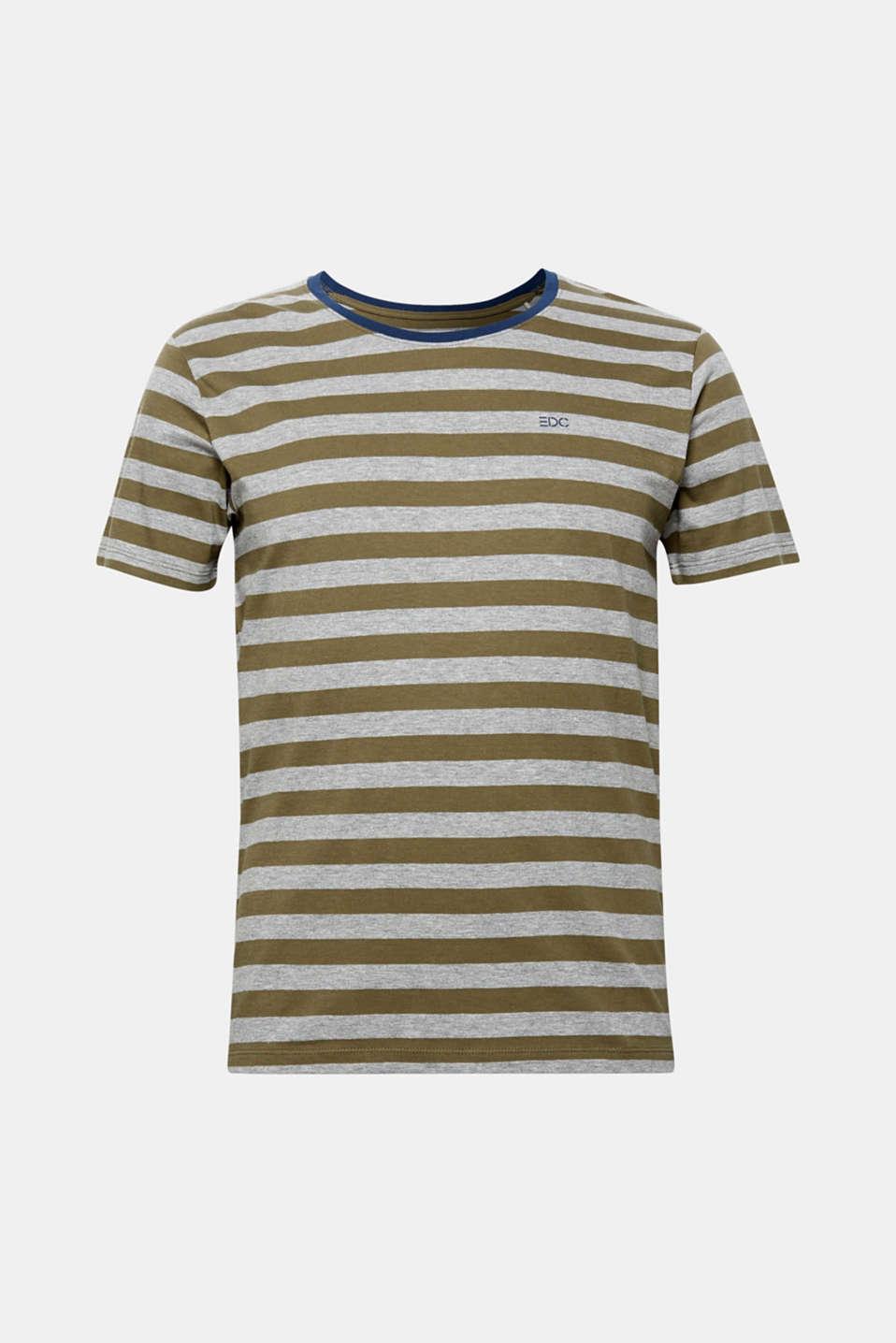 T-Shirts, KHAKI GREEN, detail image number 6