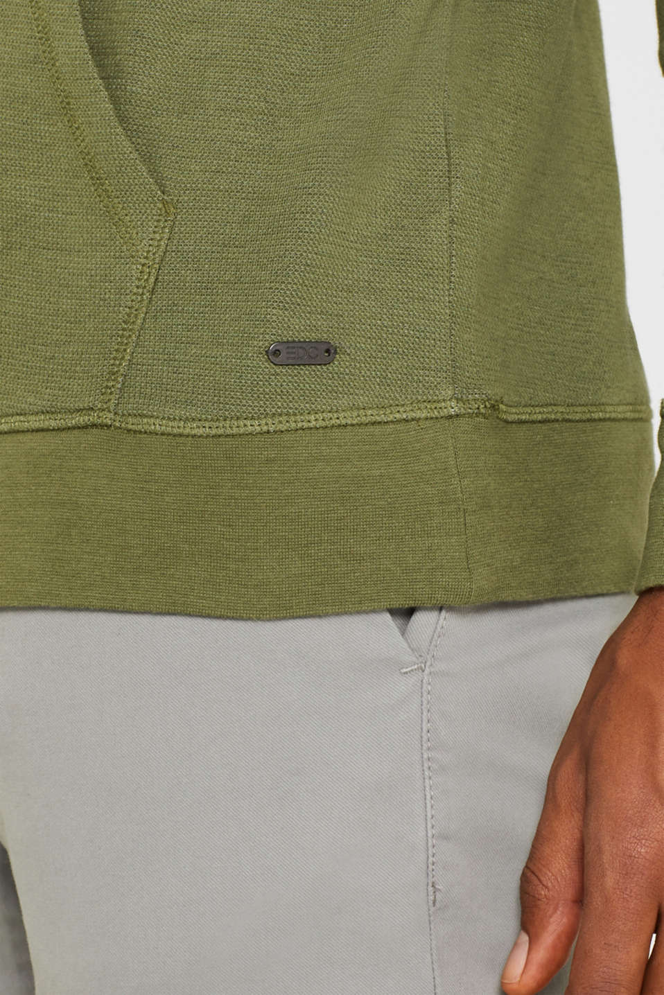 T-Shirts, OLIVE, detail image number 6