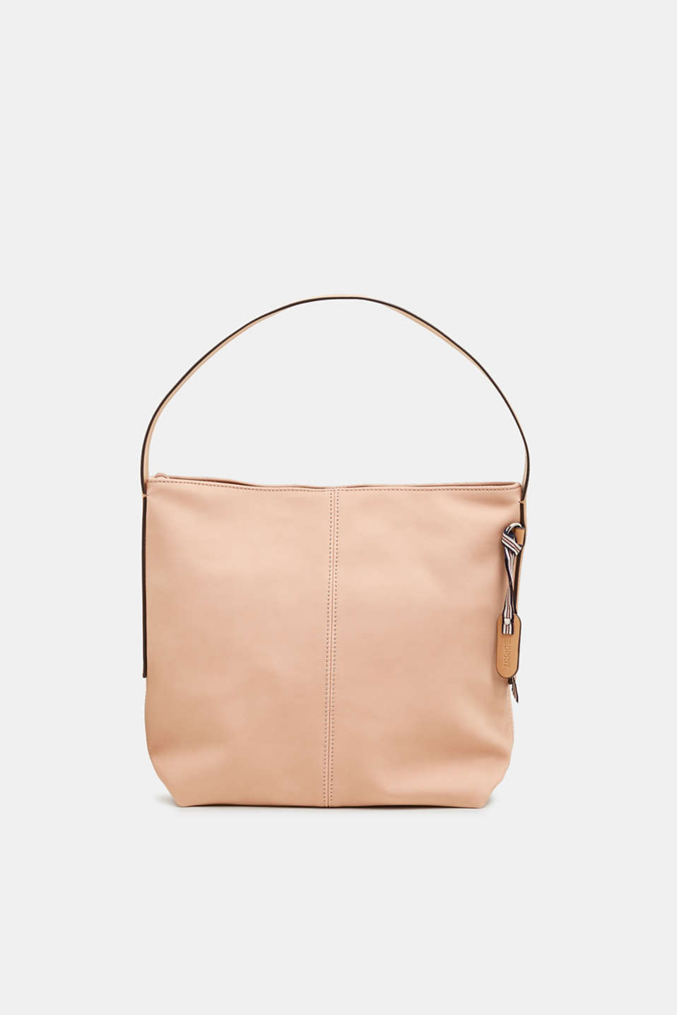 Esprit - Hobo bag in nubuck-look