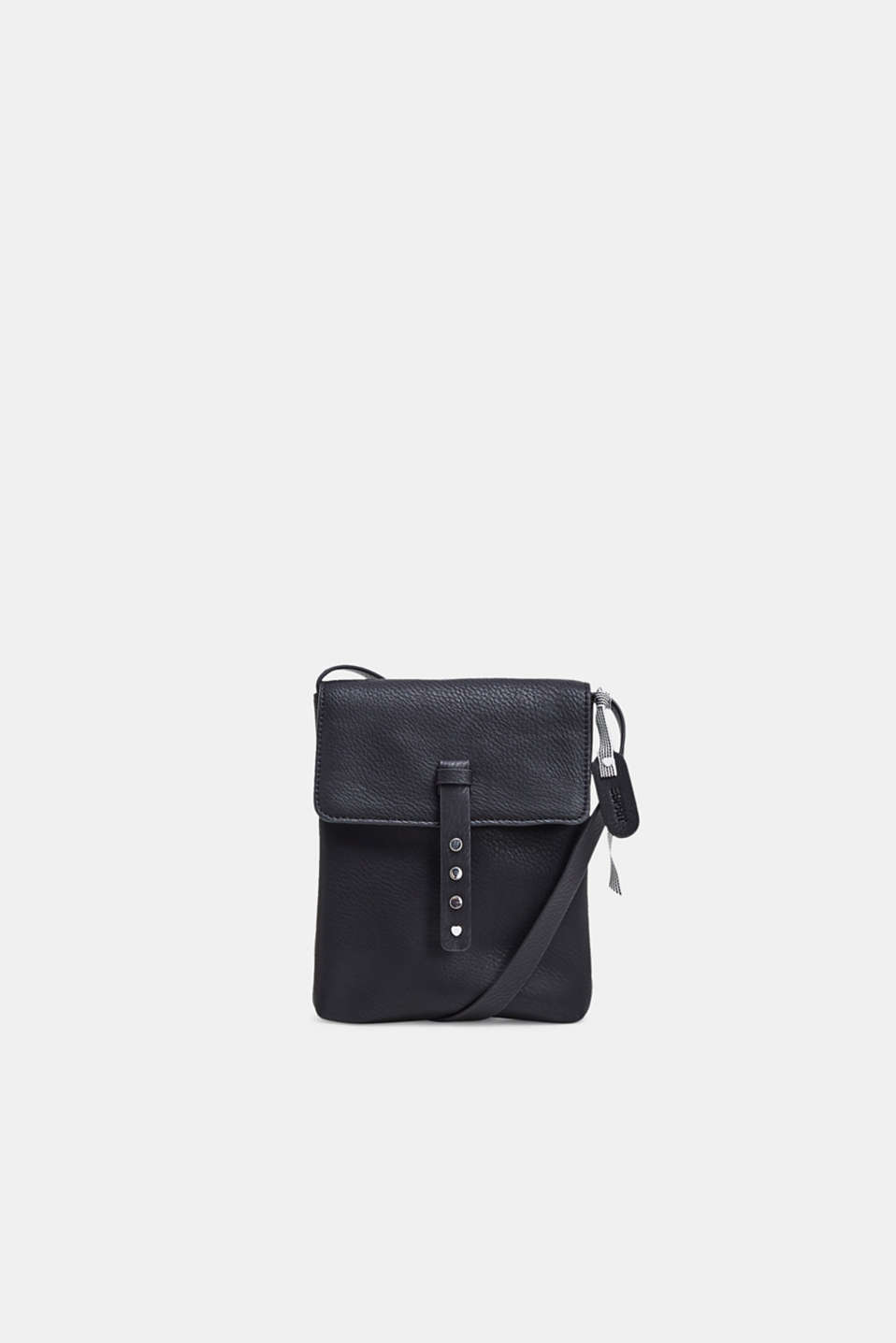 Esprit - Small faux leather shoulder bag