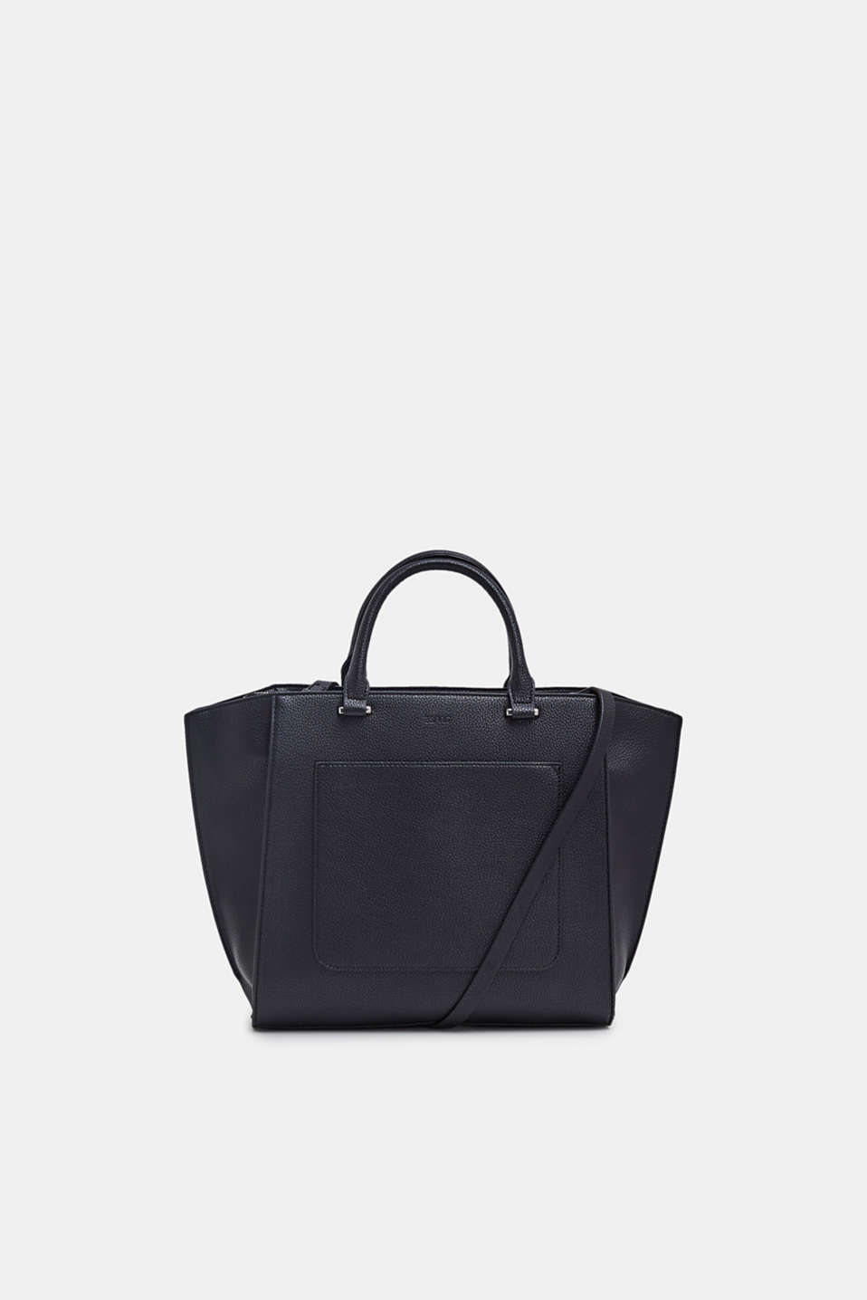 Esprit - City bag in leerlook