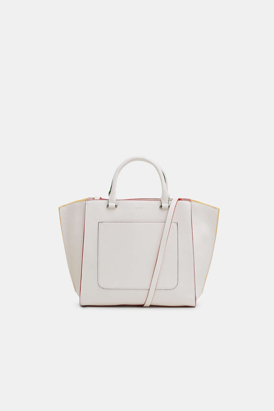 Esprit - City Bag in Leder-Optik