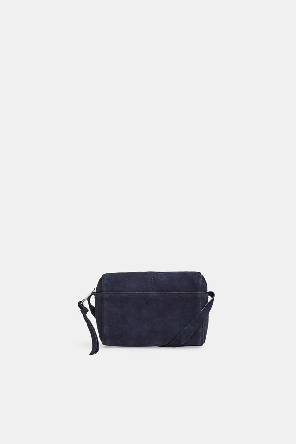 Esprit - Small shoulder bag made of suede