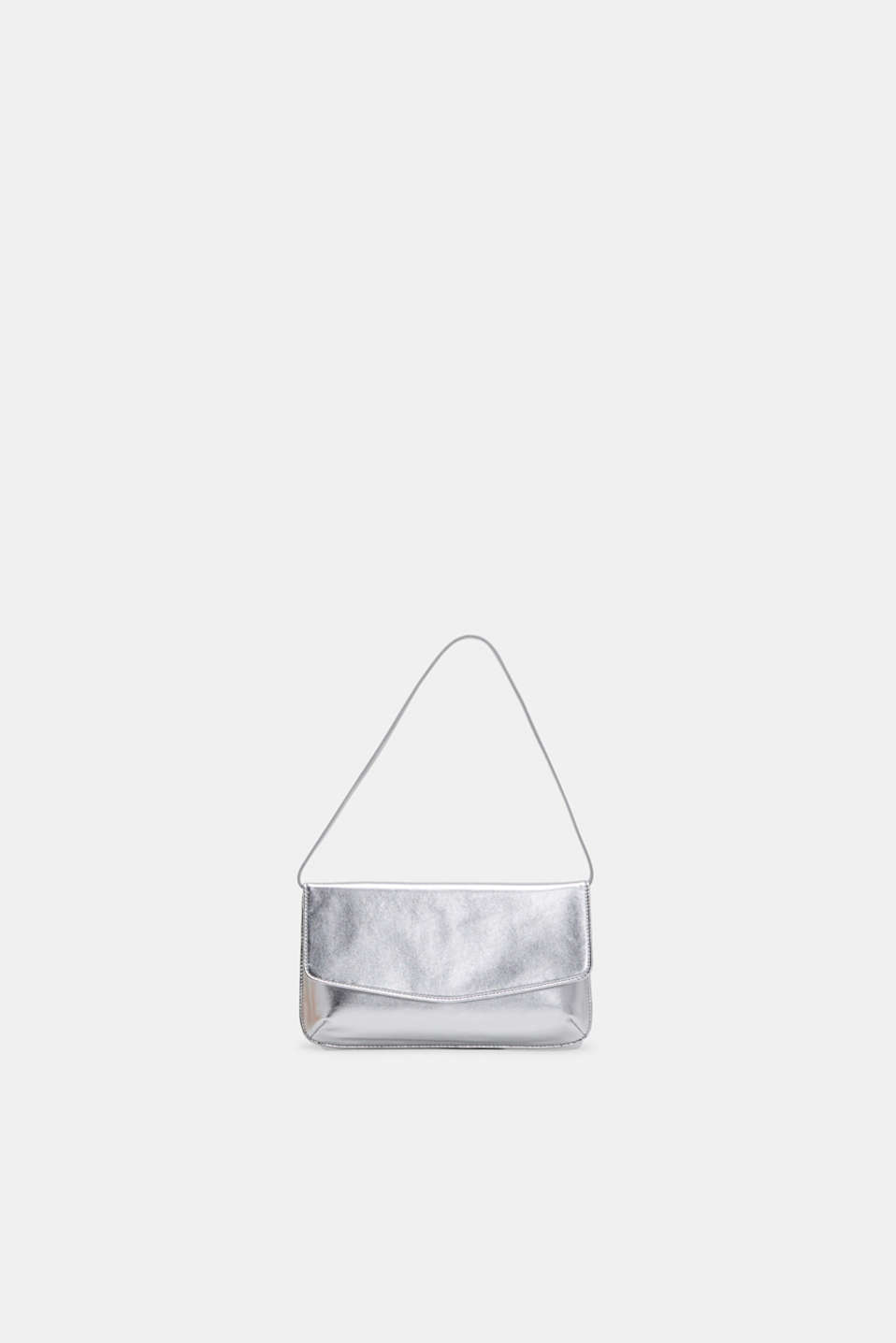 Esprit - Baguette bag in a metallic look