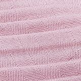 Soft woven scarf with accordion pleats, OLD PINK, swatch