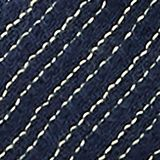 Textured scarf with a fine striped pattern, NAVY, swatch