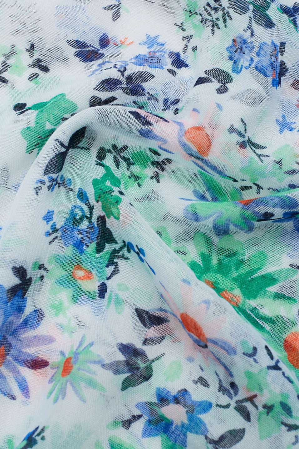 Shawls/Scarves, OFF WHITE, detail image number 2