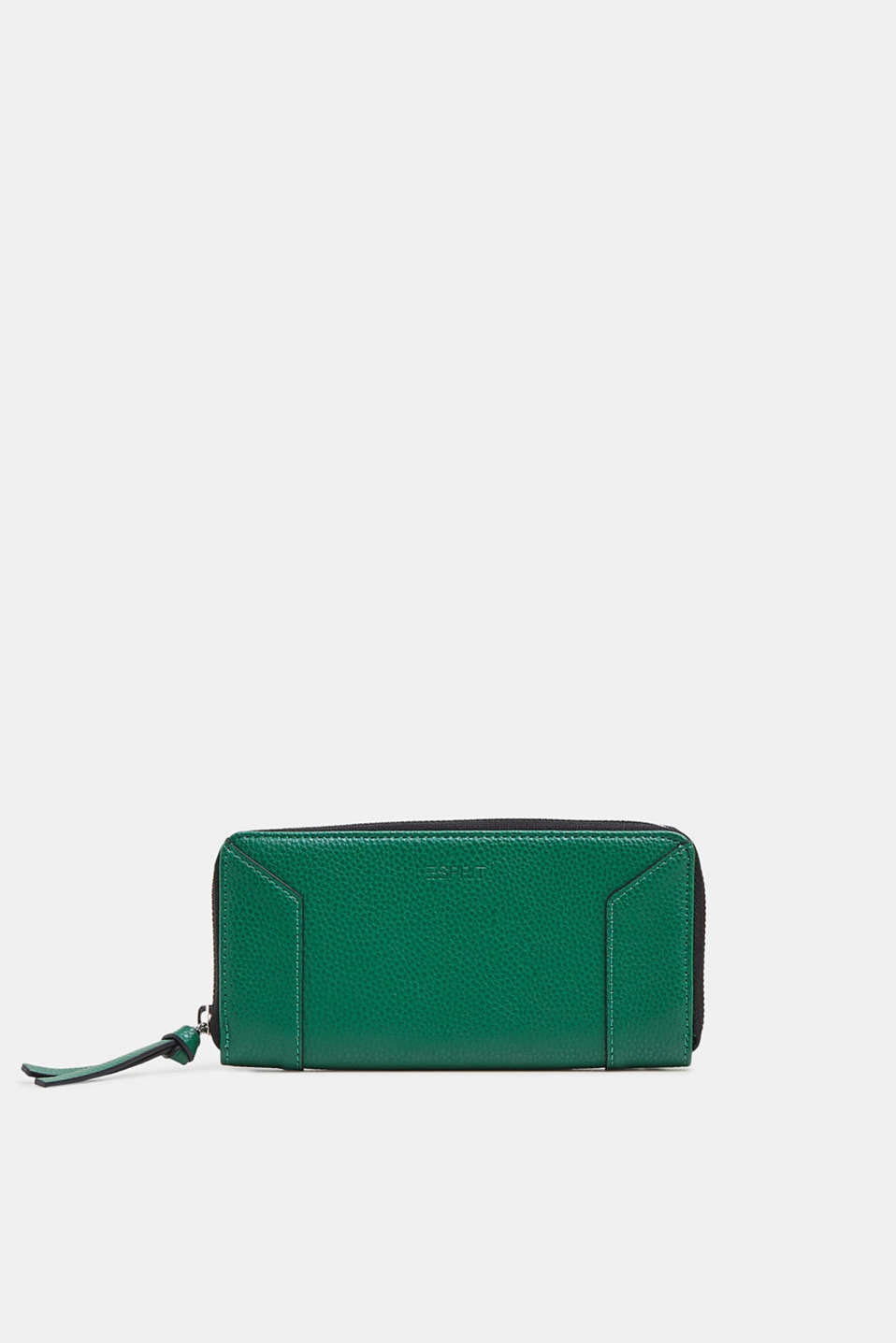 Esprit - Wallet made of vegan faux leather