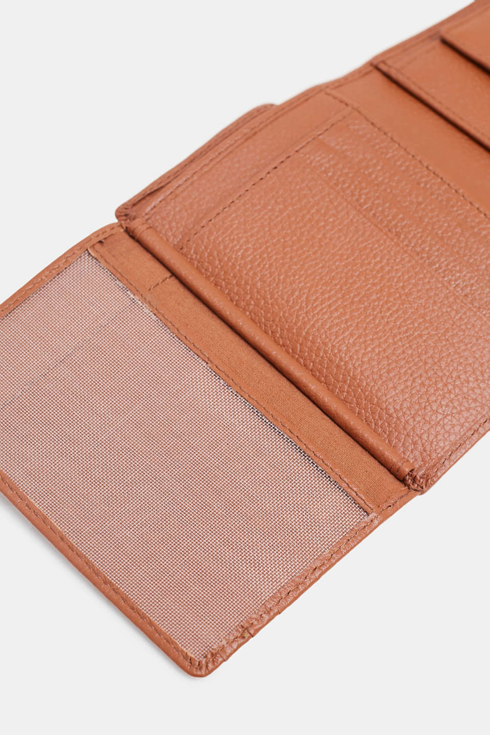 Leather purse, RUST BROWN, detail image number 2