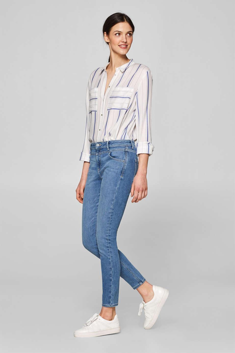 esprit shaping jeans mit hohem bund im online shop kaufen. Black Bedroom Furniture Sets. Home Design Ideas