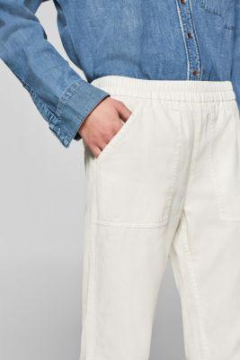 ea55892c Esprit - Bukser med elastiklinning, 100% bomuld i Esprits Online-Shop