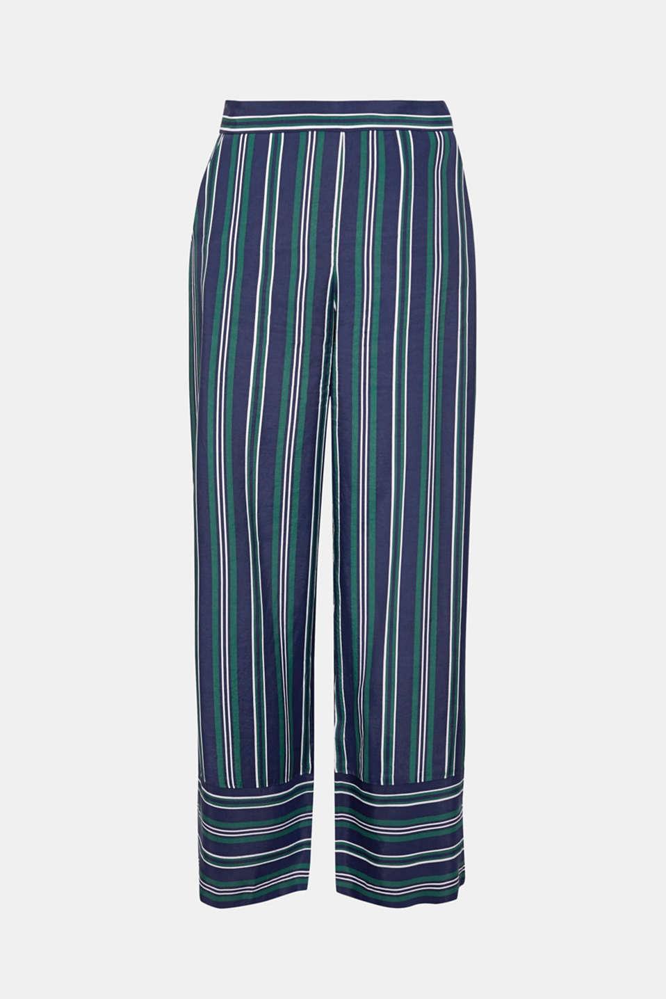 Pants woven, DARK TEAL GREEN, detail image number 8