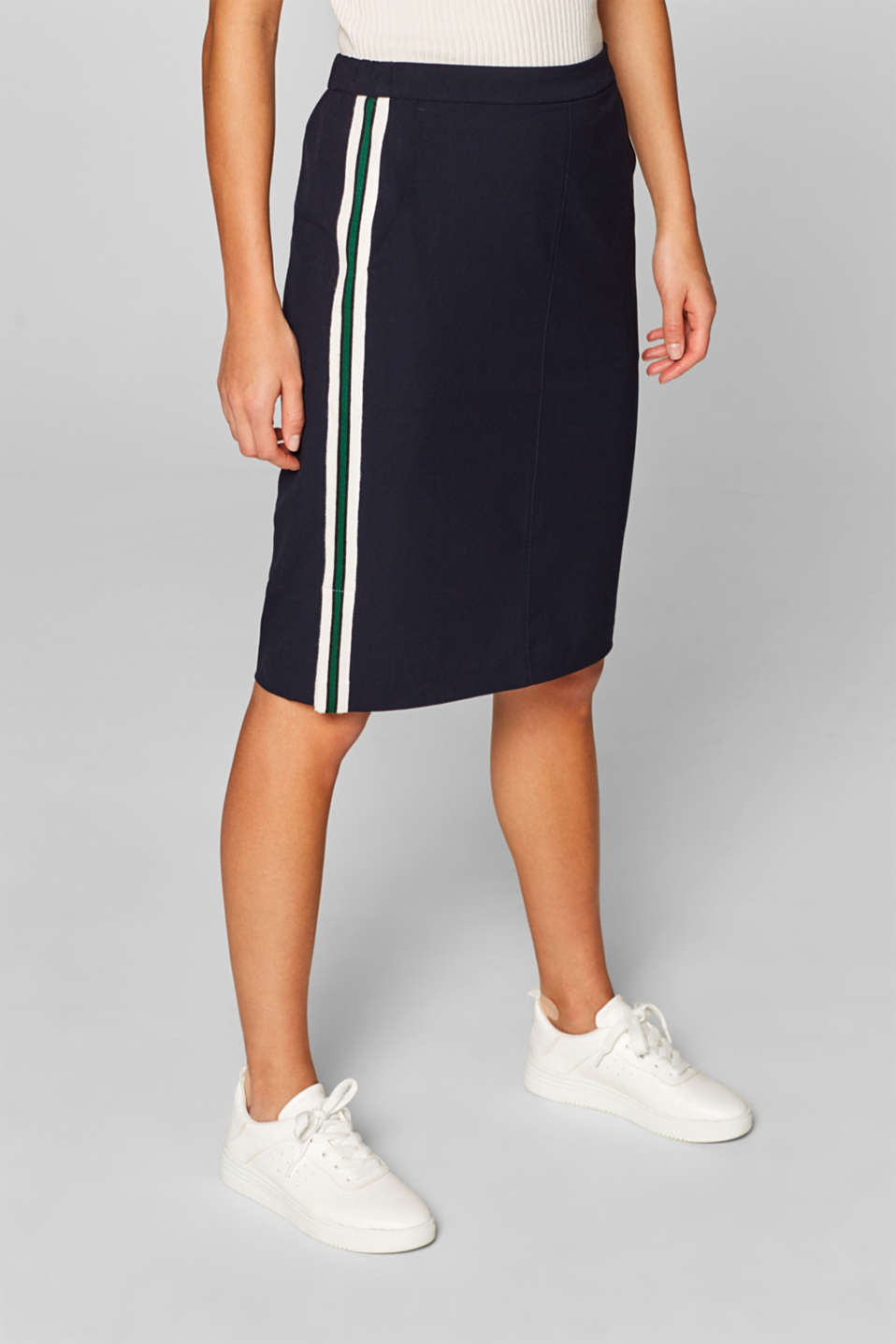 Skirts woven, NAVY, detail image number 6