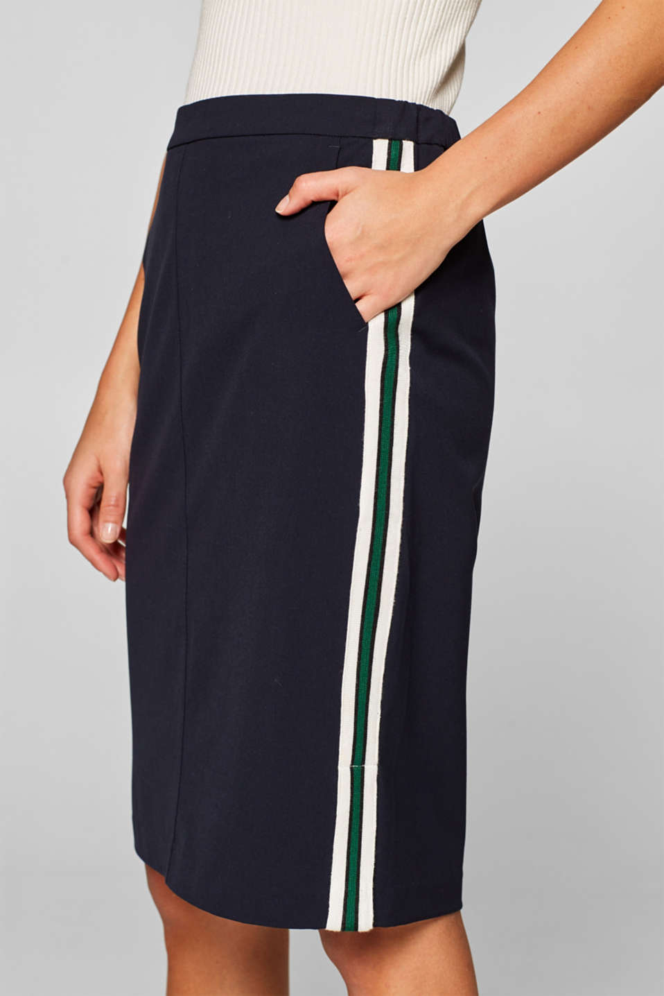 Skirts woven, NAVY, detail image number 3