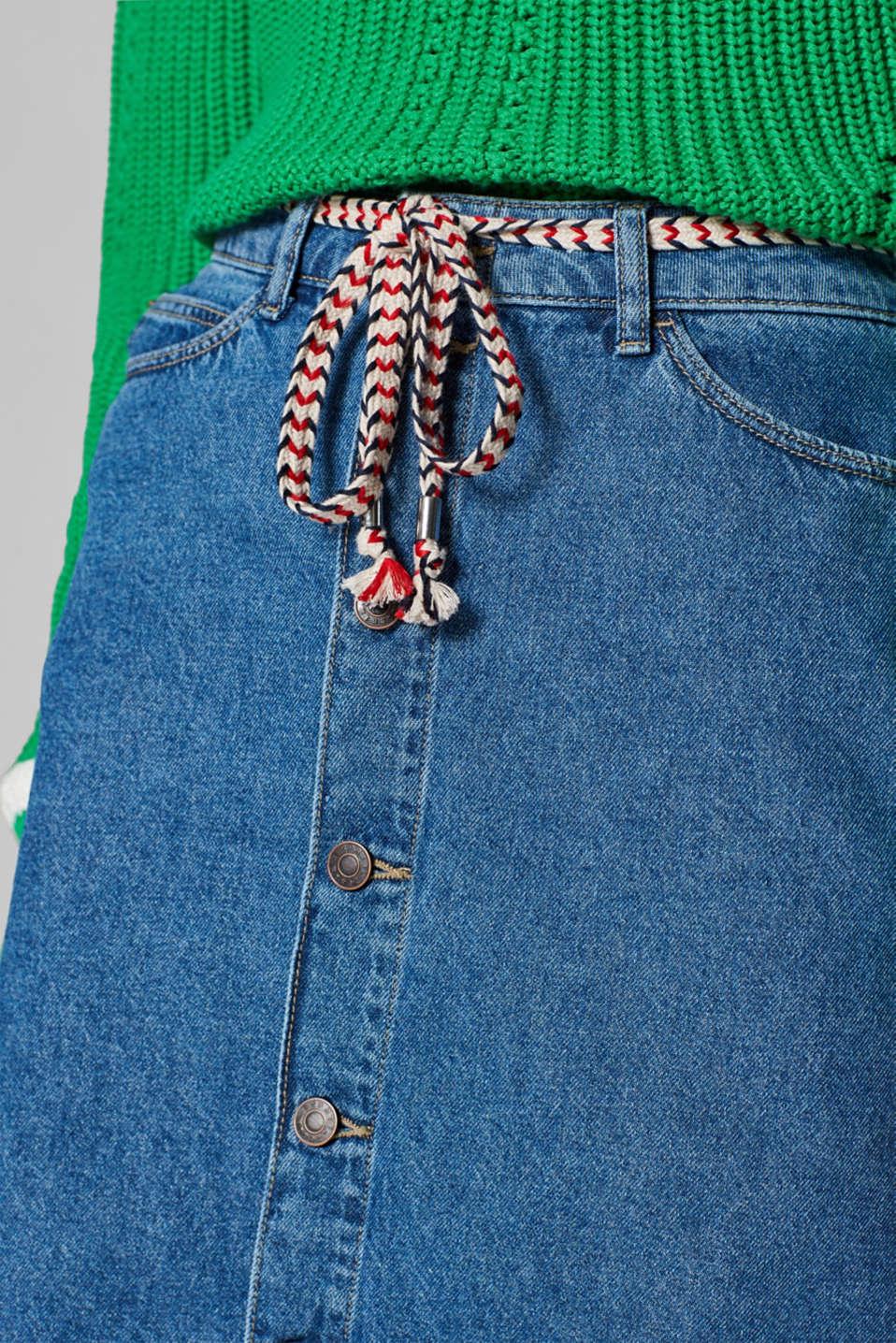 Skirts denim, BLUE MEDIUM WASH, detail image number 2