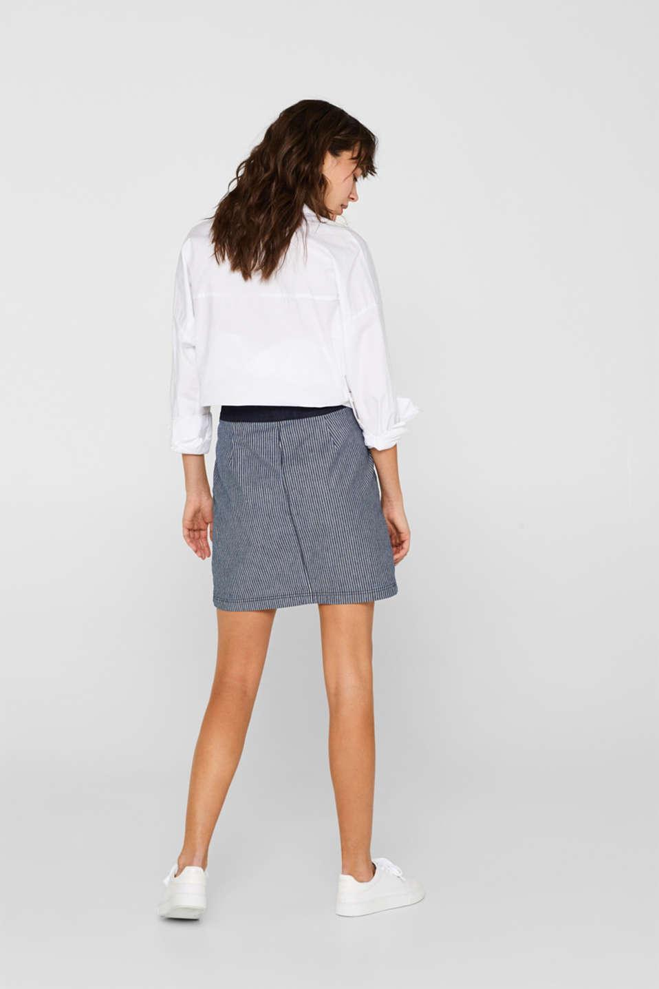 Skirts denim, BLUE MEDIUM WASH, detail image number 3